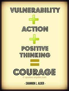 When positive thinking is combined with vulnerability and action, it is called courage. Positive Attitude Quotes, Positive Thoughts, Motivational Words, Inspirational Quotes, Daily Quotes, Best Quotes, Say Word, Quotable Quotes, Positive Affirmations