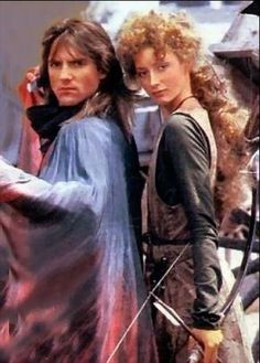 Robin Of Sherwood - with Michael Praed as Robin and Judi Trott as Marion