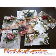 Floral die cut course