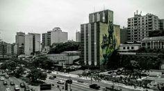 Festival Internacional de Arte na Rua: grafite de Herakut, da Alemanha e M-City da Polônia.