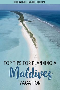The top Maldives travel tips for planning your trip to paradise. Continue reading this information packed guide filled with useful tips including how to travel around the islands, the top things to do in the Maldives and more! maldives| maldives trip | maldives travel guide | maldives photography | maldives travel | maldives island Cool Places To Visit, Places To Travel, Travel Destinations, Vietnam Travel, Africa Travel, Vacations To Go, Romantic Vacations, Romantic Travel, Dream Vacations