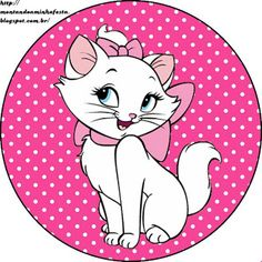 Montando a minha festa: Gatinha Marie Kitty Party, Art Disney, Disney Cars, Aristocats Party, Comic Party, Beatles Party, Marie Cat, Gata Marie, Candy Bar Labels