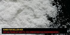 Saltning af kød til koldrøgning / halvvarmrøgning