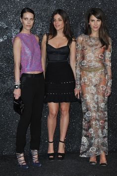 Julia Restoin-Roitfeld and Caroline Sieber Photo - Chanel: Photocall - Paris Fashion Week Haute Couture F/W 2011/2012