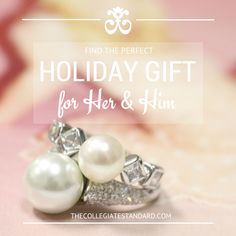 Perfect Holiday Gifts for her.   #jewelry #holiday #gifts #presents #giftsforher #greek #sorority #fraternity  #rings #diamonds