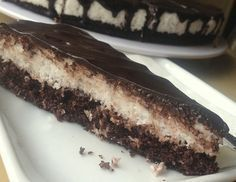 "Képtalálat a következőre: ""paleo bounty szelet"" Gf Recipes, Low Carb Recipes, Dessert Recipes, Healthy Recipes, Desserts, Healthy Cookies, Healthy Sweets, Bounty Chocolate, Chocolate Cake"