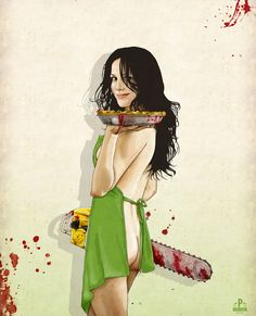 Slaughterhouse Starlets: Mary-Louise Art Print