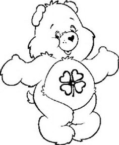 image result for care bears coloring pages