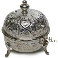 Tea Container Sugar Container, Artisanal, Silver Plate, Plating, Moroccan Kitchen, Tins, Kitchen Tools, Bowls, Image
