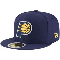 brand new 75c98 9ed05 Indiana Pacers New Era Youth Official Team Color 59FIFTY Fitted Hat – Navy