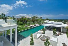 Villa Ombak Putih derives the elegant living of five bedroom villa in Cemagi village, Canggu, Bali