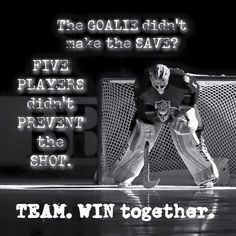 Sport quotes for girls plays 57 ideas for 2019 Hockey Memes, Hockey Quotes, Hockey Goalie, Field Hockey, Hockey Players, Bruins Hockey, Soccer, Goalie Quotes, Sport Quotes