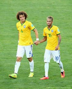 Ok their friends and me and nour are friends but neymar is mine david luiz yours do u agree??