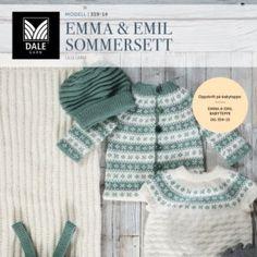 DG359-01 Malene Genser & tights – Dale Garn Knitting For Kids, Tights, Crochet Hats, Children, Fashion, Knitting, Dots, Tejidos, Threading