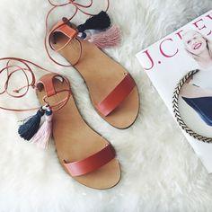 tassel sandals - Google-søk