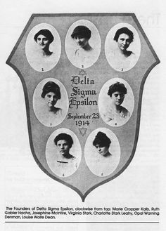 Delta Sigma Epsilon was founded at Miami University in Oxford, Ohio on September 23, 1914. It became one of the leading pedagogical, or educational, sororities in the country, made up of women who were studying to be teachers.