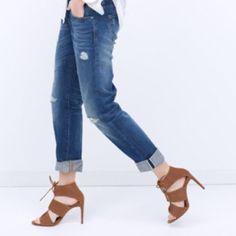 ZARA Laceup Suede Heels NIB. EU 41 = US 10 Zara Shoes Heels