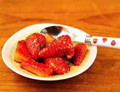 Recipe: strawberries in balsamic (and Lydia's recommendation for the best balsamic vinegar