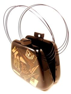 SOBRAL 'Flash Gordon' Designer Resin Handbag by Jackie Brazil