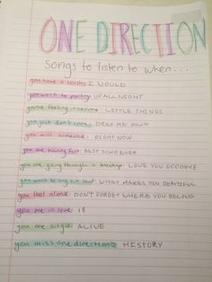 1d Songs, Best Songs, Music Songs, One Direction Songs, I Love One Direction, Throwback Songs, Larry, Feeling Song, Song Suggestions