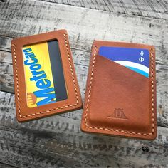 Wallet: The Bushwick (Baseball Glove Leather) Leather Gloves, Leather Tooling, Luxury Handbags, Leather Craft, Minimalist Fashion, Card Holder, Baseball, Leather Wallets, Accessories