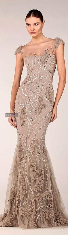a487cdcf95 Evening Dress Formal Evening Gown Tony Ward Fall Winter Ready to Wear