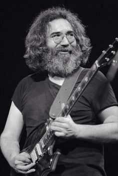 Jerry Garcia~ love this photo.