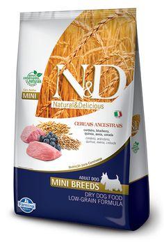 Cordeiro e Blueberry Adult Mini Low Grain