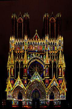 Notre-Dame de Reims ~ Champagne, Ardenne, France