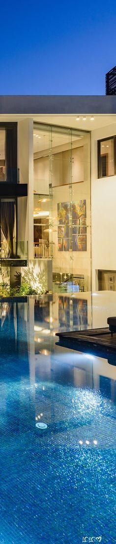 Allegria Villa #ModernPools #ModernHouses #ModernOutdoorSpaces Modern Pools, Villa, Outdoor Decor, Home Decor, Decoration Home, Room Decor, Villas, Interior Decorating