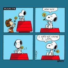 Snoopy, flower..must be Tuesday! | Wisdom of Snoopy & the Peanut Gang