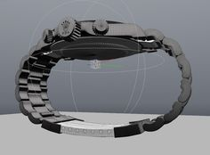 Watch ROLEX DAYTONA – free 3D model ready for CG projects. Available formats: Luxology Modo (.lxo)