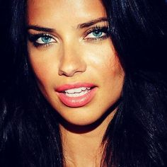 Adriana Lima she is totally my favorite model gorgeous