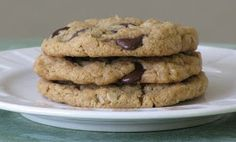 Little House of Veggies: Morgan's Amazing Chocolate Chip Oatmeal Cookies