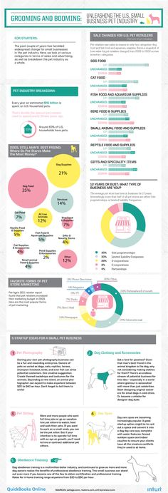 Grooming & Booming: Unleashing the US Small Business Pet Industry #Infographic
