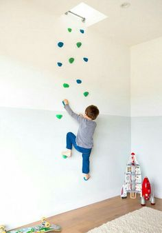 DIY Kletterwand in den Himmel
