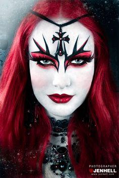 Dark Fairy Makeup | model petra hyberg make up styling tallee savage photo graphics ...