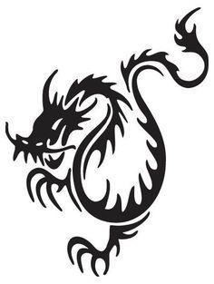 Dragon:  potential tattoo idea.