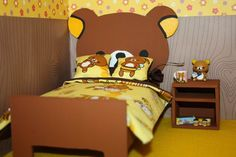 rilakkuma bed room