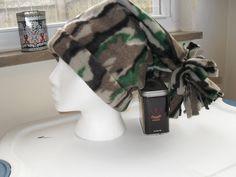 Fleece winter hat.....camo by MsMartyD on Etsy