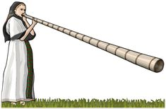 "BUCIUM The bucium (Romanian pronunciation: [ˈbut͡ʃjum], also called trâmbiţă or tulnic) is a type of alphorn used by mountain dwellers in Romania. Of Dacian origin[citation needed], it was used in the principalities of Moldavia and Wallachia as signaling devices in military conflicts[citation needed]. The word is derived from Latin bucinum, originally meaning ""curved horn"", an instrument used by the Romans. The word is a cognate with English ""bugle"".  The tube is made from limetree bark…"