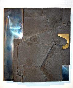 2ème station du chemin de croix de Bossonens Charles Cottet avec la participation de Yves Leroy céramiste Wallet, Signs, Nun, Crosses, Handmade Purses, Purses, Diy Wallet, Purse