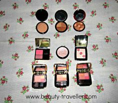 Beauty Traveller: The HOW To's of Blush & Guerlain Blushers and Bronzers....