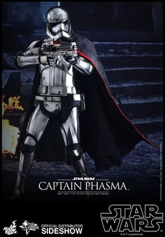 Hot Toys Star Wars Captain Phasma Sixth Scale Figure, Star Wars Collectibles, by Hot Toys, Hot Toys Star Wars Episode VII The Force Awakens Captain Phasma Movie Masterpiece Series MMS Sixth Scale Figure As the release date of Star Wars The Force . Star Wars Toys, Star Wars Art, Star Trek, Statues, Gwendolyn Christie, Stormtrooper, Google Plus, Fly Guy, Star Wars Merchandise