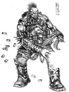 Goliath Heavy - Necromunda - GW