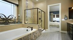 We love this Master Bath at Silverleaf by Taylor Morrison