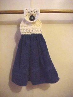 Cute Towel Topper    Designed by Julie A. Bolduc
