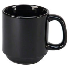 "Vertex China (SM-BK) - 3-1/4"" Summit Mug - Vista Collection 