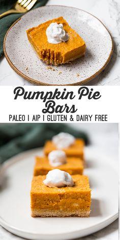 Paleo Pumpkin Pie Ba...