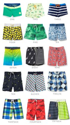 Affordable Swimsuits for Boys | Thrifty Littles Blog